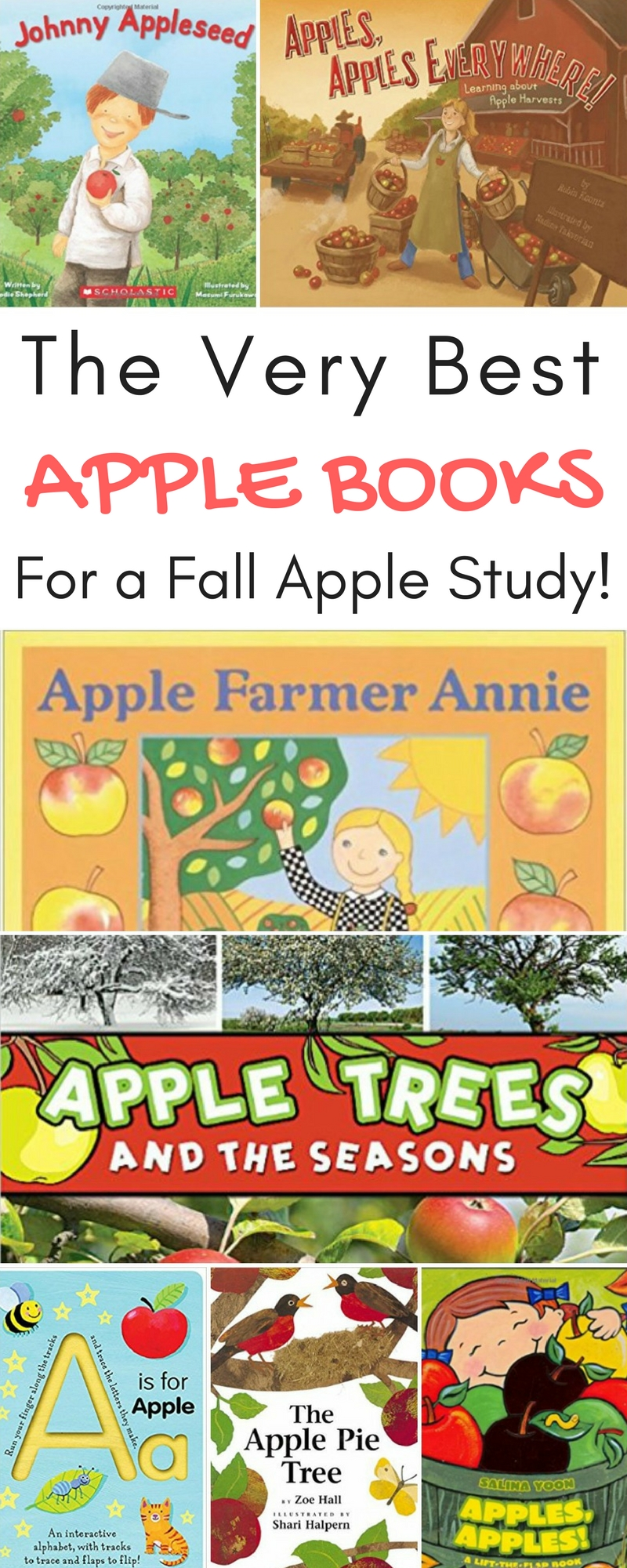The Very Best Apple Books for a Fall Apple Study!