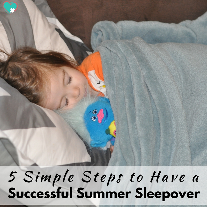 5 Simple Steps to Have a Successful Summer Sleepover