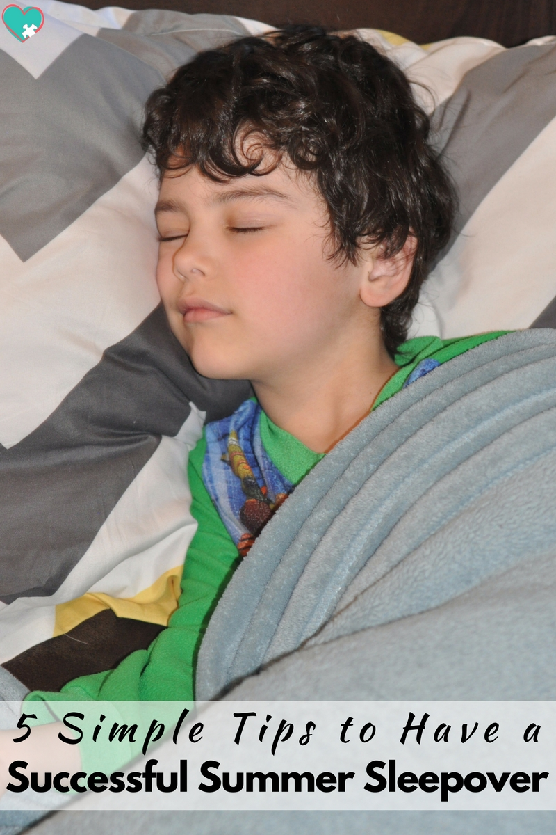 5 Tips for a Successful Summer Sleepover