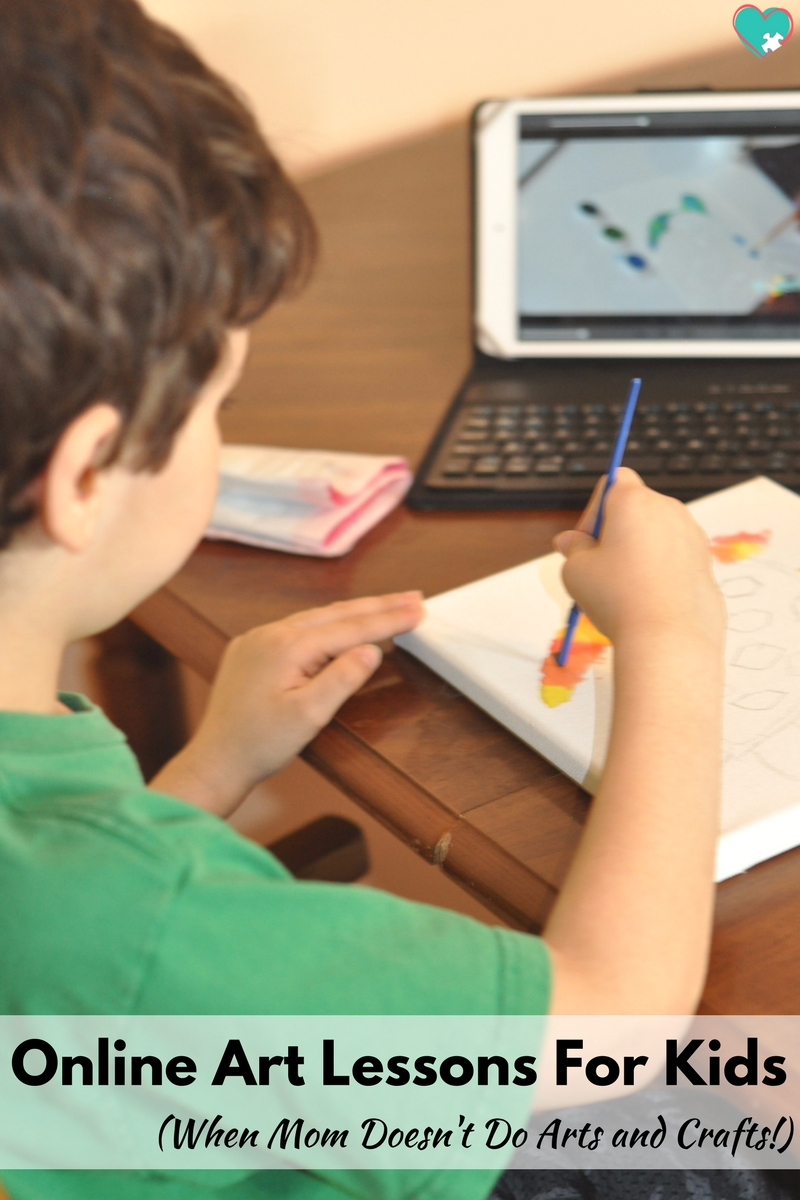 Online Art Lessons for Kids (For When Mom Doesn't Do Arts and Crafts!)