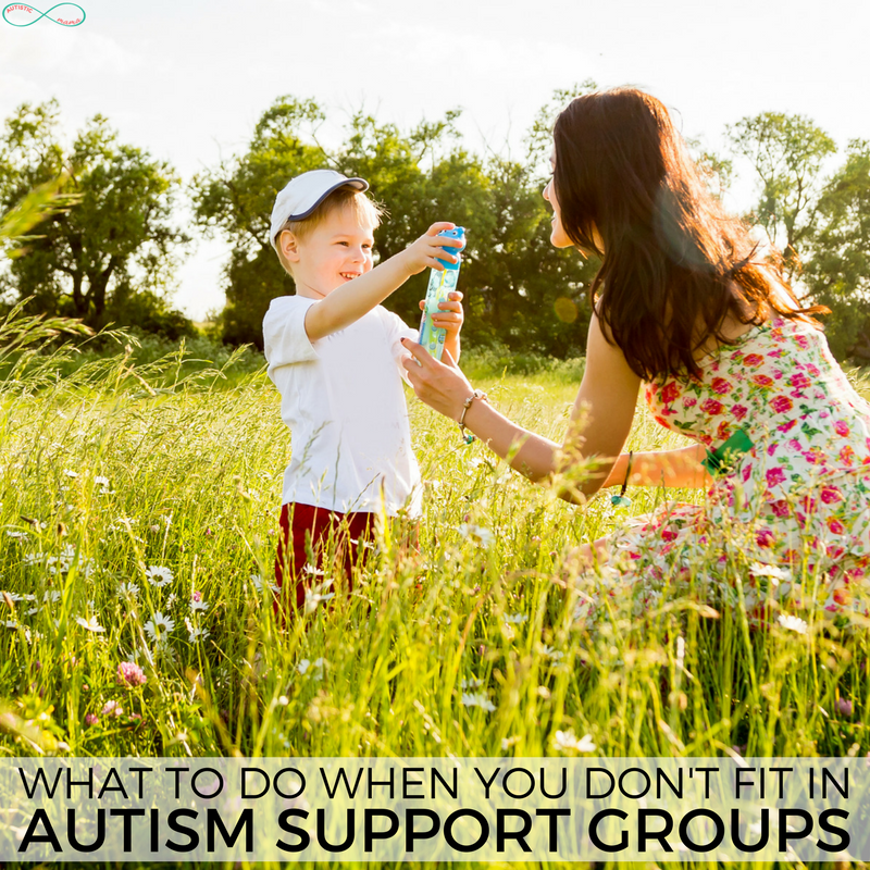 What to Do When You Don't Fit in Autism Support Groups #autism #autistic #actuallyautistic #autismmom #disability #parenting