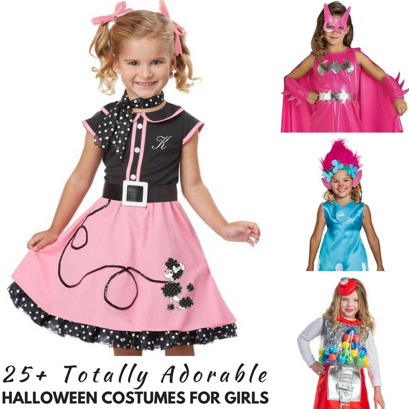 25+ Totally Adorable Halloween Costumes for Girls