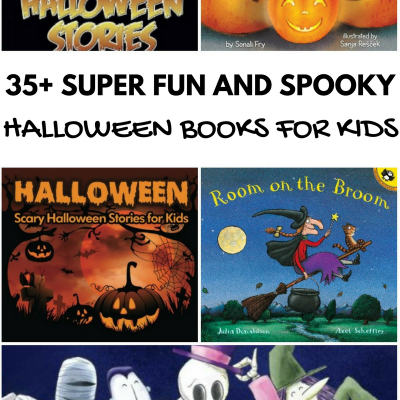 35+ Super Spooky & Fun Halloween Books for Kids