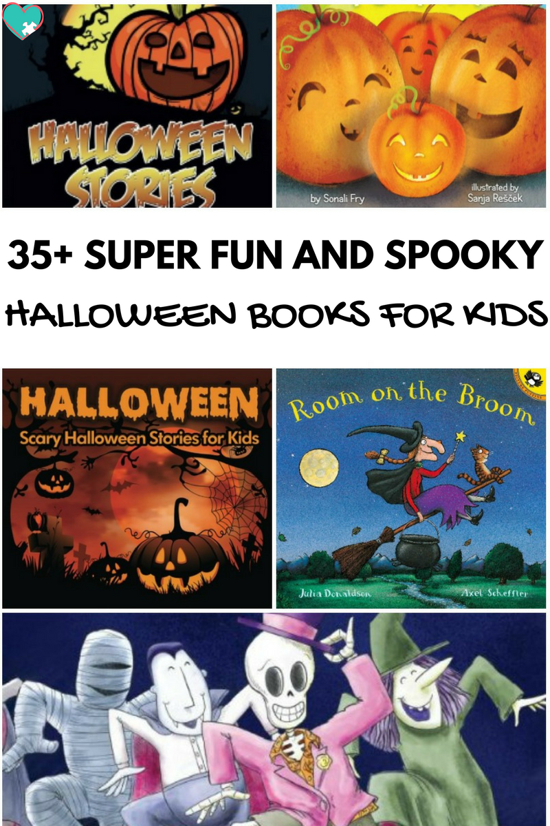 35+ Super Spooky & Fun Halloween Books for Kids!