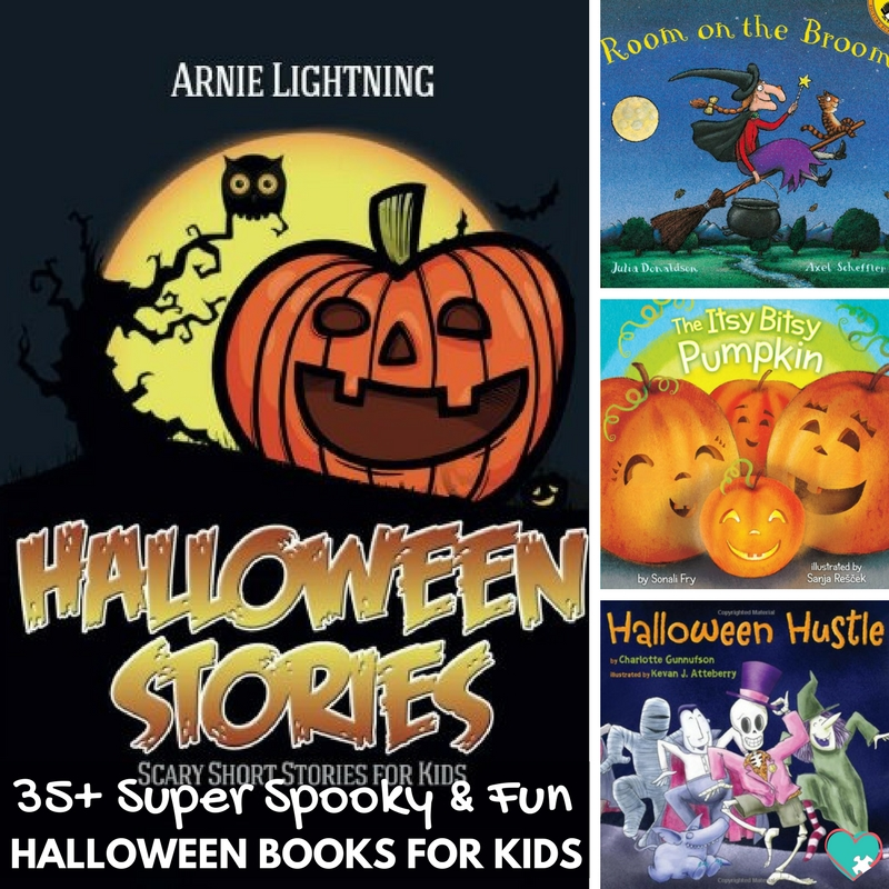 35+ Super Spooky & Fun Halloween Books for Kids!