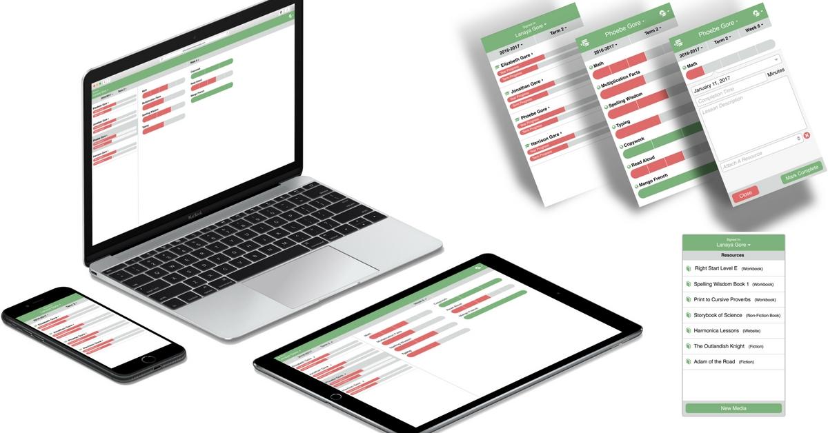 Flexible Homeschool Planning App for Busy Homeschoolers