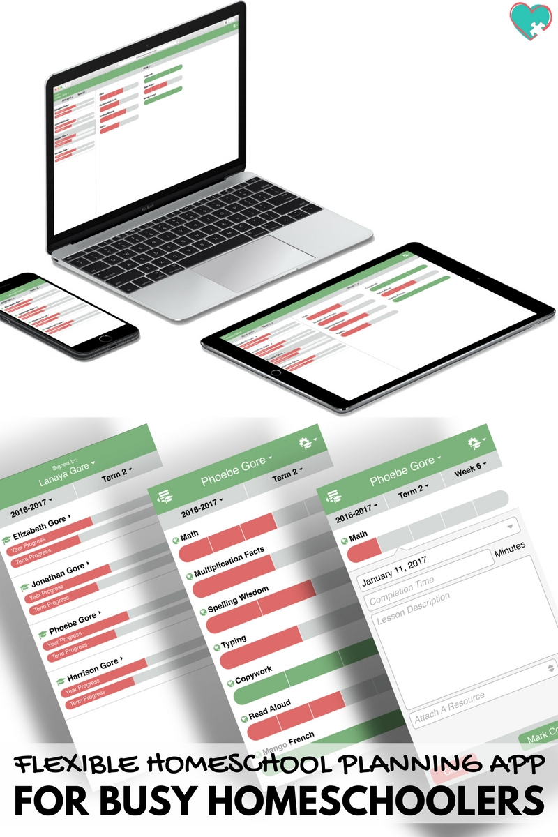 A Flexible Homeschool Planning App For Busy Homeschoolers