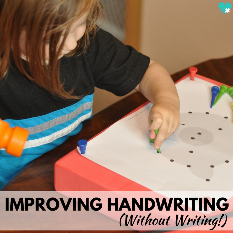 Improving Handwriting (Without Writing!)