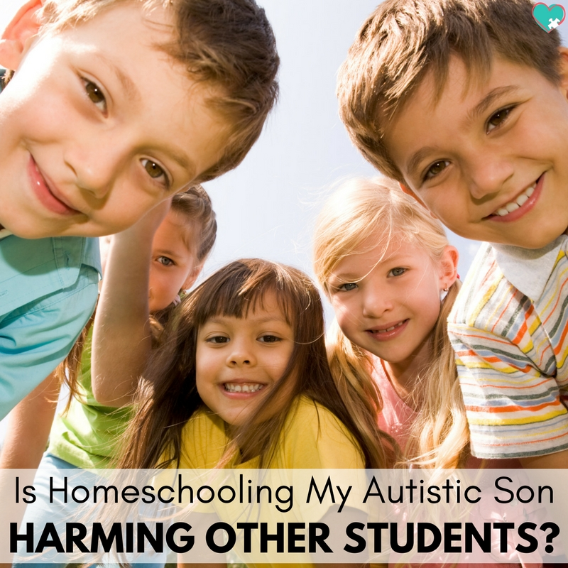 Is Homeschooling My Autistic Son Hurting Other Students?