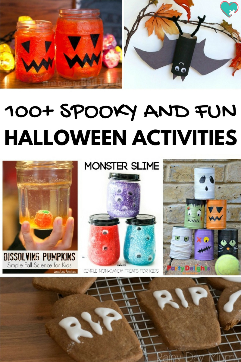 100+ Spooky & Fun Halloween Activities for Kids
