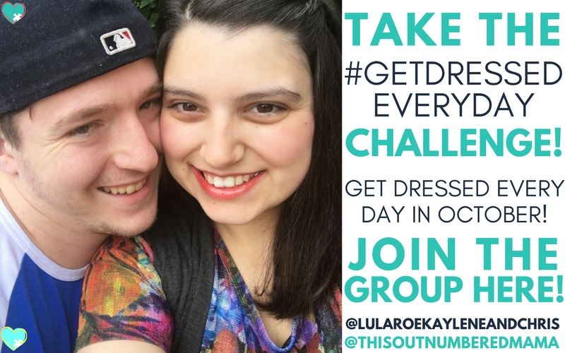 Take the #GetDressedEveryDay Challenge with LuLaRoe Kaylene & Chris! Use the hashtag on Instagram and tag @LuLaRoeKayleneAndChris!