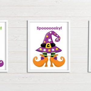 Spooky & Adorable Halloween Printable Wall Art