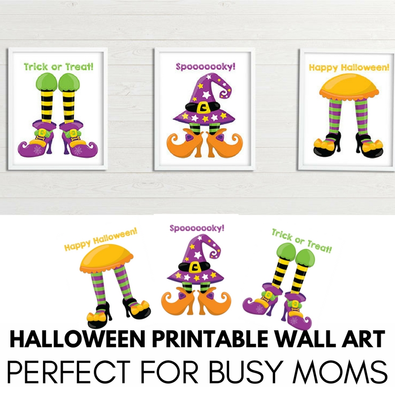 Halloween Printable Wall Art for Busy Moms