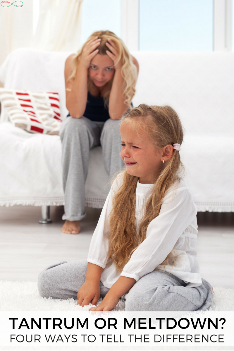 4 Simple Ways to Tell a Tantrum from a Sensory Meltdown
