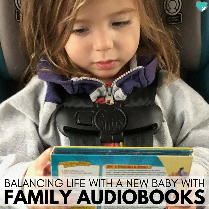 Balancing Life with a New Baby with Family Audiobooks