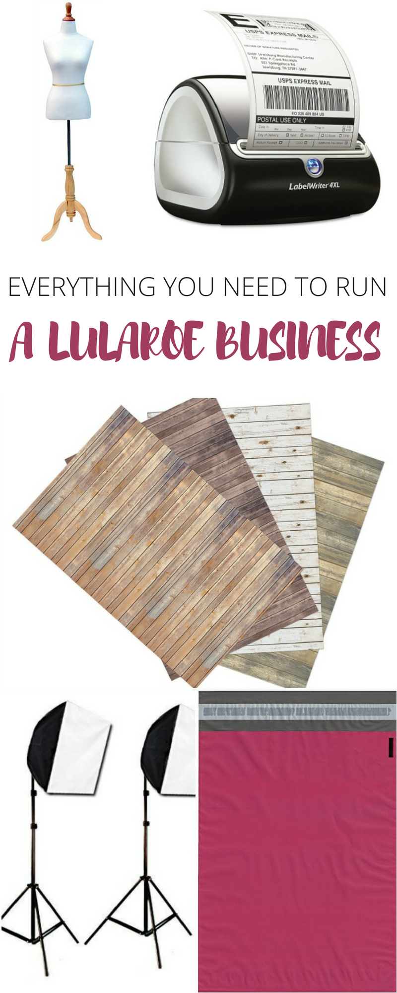 Woah... This list has absolutely everything you need to run a LuLaRoe business! If you're going to become a LuLaRoe Retailer, you've GOT to check out this list!