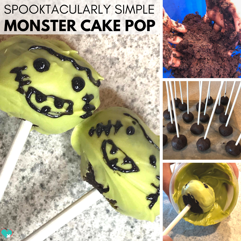 You've GOT to try out these spooktacularly simple monster cake pops! They're totally adorable and simple to make for Halloween!