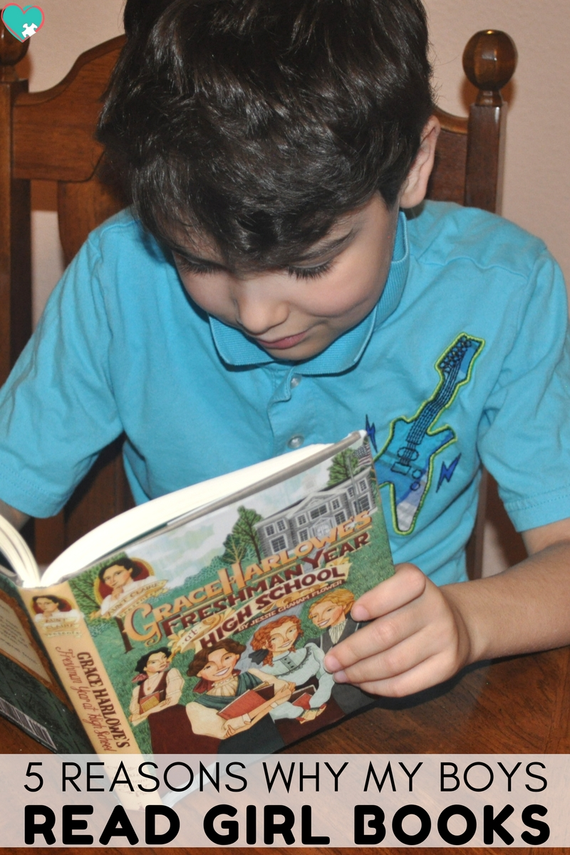 5 Reasons Why My Boys Read Girl Children's Books