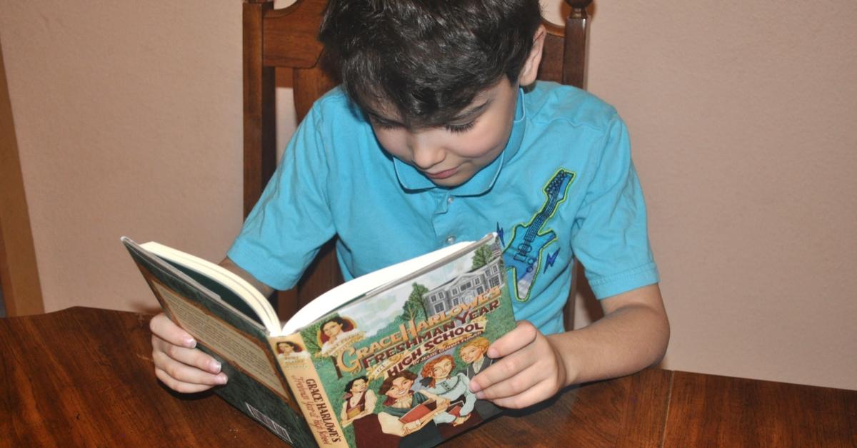 5 Reasons Why My Boys Read Girl Books #ihsnet #homeschooling #reading #raisingboys #boymom #parenting (sponsored)