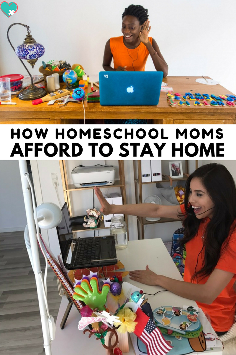 How Homeschool Moms Afford to Stay Home | Teach English Online