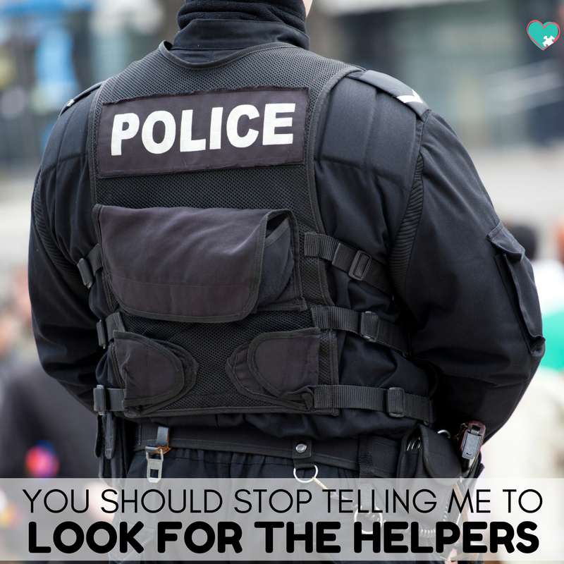 Stop Telling Me to Look for the Helpers #schoolshooting #parenting #shootings #tragedy