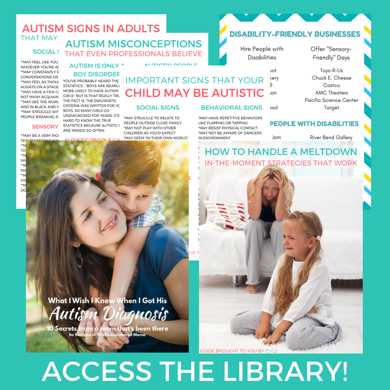 Access the Autistic Mama Library!