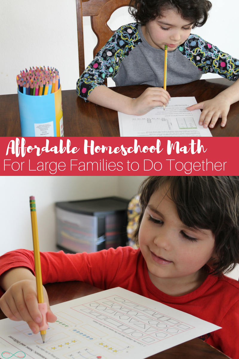 Affordable Homeschool Math for Specific Grade Levels #ihsnet #homeschooling #homeschoolmom #curriculum #math #homeschoolmath
