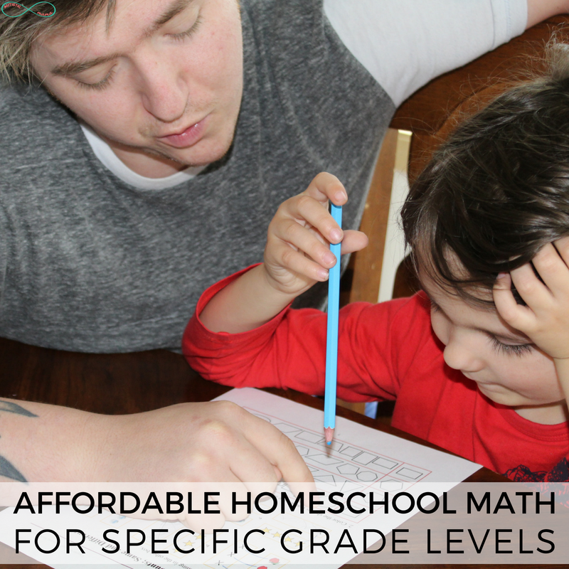 Affordable Homeschool Math for Specific Grade Levels