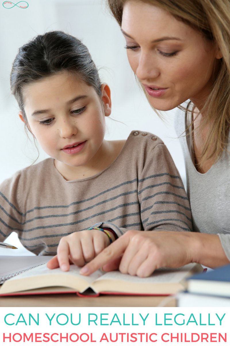 Can you really legally homeschool autistic children?