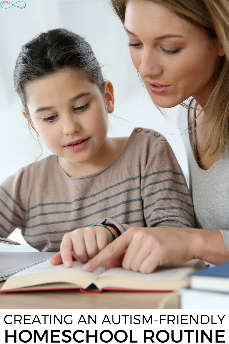 Creating an Autism-Friendly Homeschooling Routine