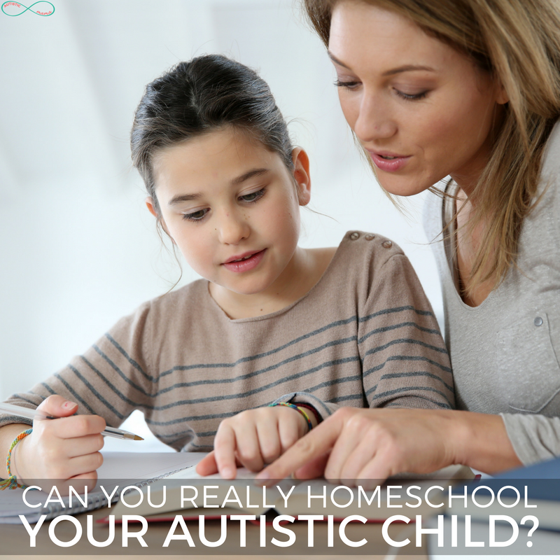 CAn You Homeschool Your Autistic Child #homeschooling #autsim #parenting #autismmom #ihsnet #homeschoolmom