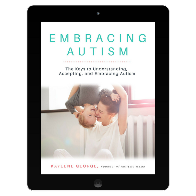 Embracing Autism Digital Mockup