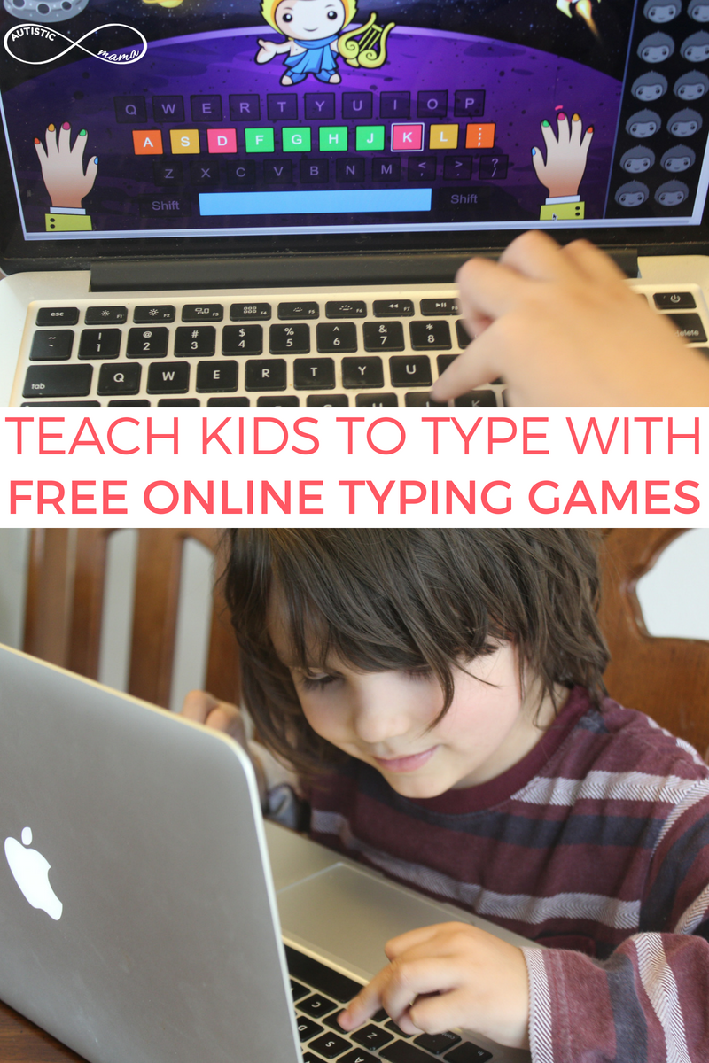 Teach Kids to Type with Free Online Typing Games