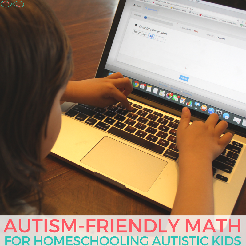 Autism-Friendly Math Homeschool Program | CTC Math