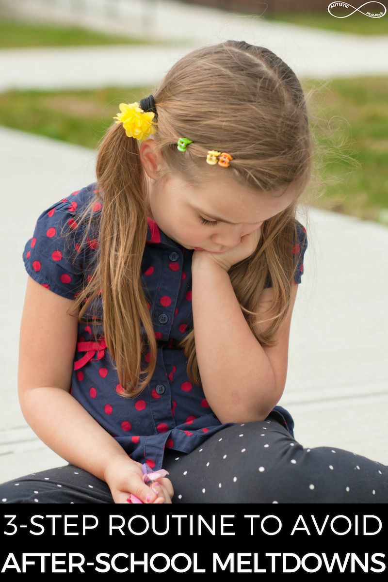 Simple 3-Step After-School Routine to Avoid After-School Meltdowns