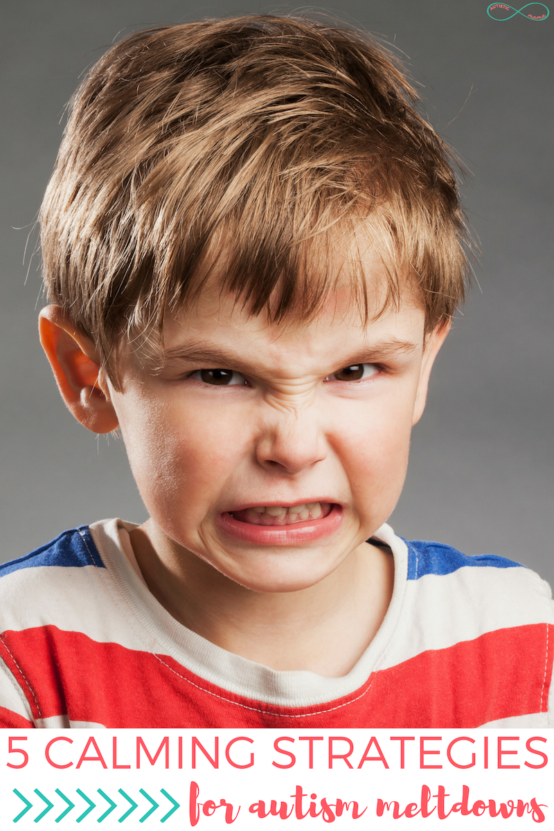5 Calming Strategies for Autism Meltdowns