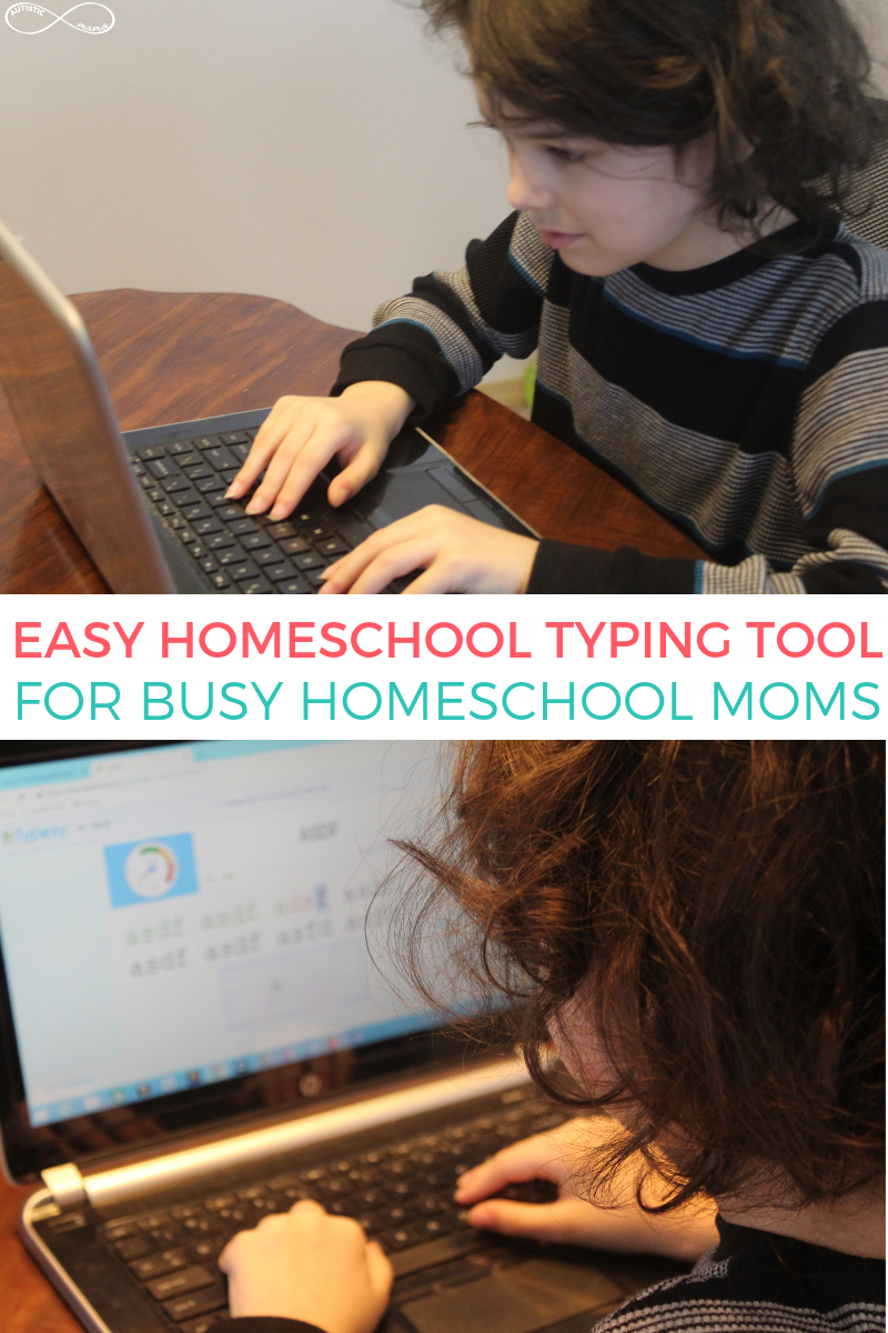 Easy Homeschool Typing Tool for Busy Moms