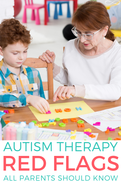 Autism Therapy Red Flags All Parents Need to Know and Watch Out For