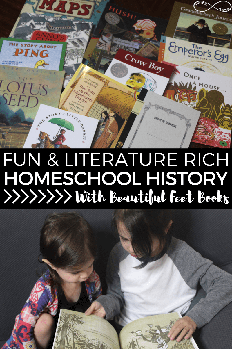Literature Rich Homeschool History With Beautiful Feet Books
