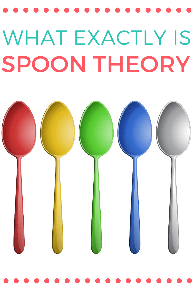 "What Exactly is ""Spoon Theory""? Spoon theory is used by chronic illness and disability communities (including the autistic community) to explain energy levels and how they live their life..."