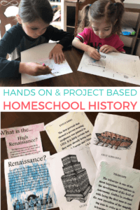 Project-Based Hands On History for Homeschoolers
