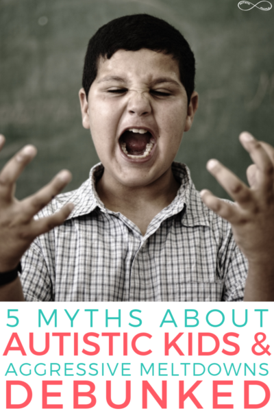 5 Myths About Autistic Kids & Aggressive Meltdowns Debunked